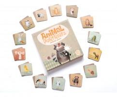 Игра Мемори Портреты животных